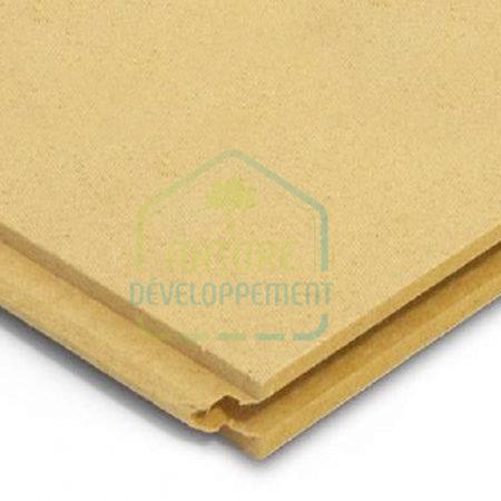 Isolant rigide pare-pluie STEICO universal DRY en fibre de bois.