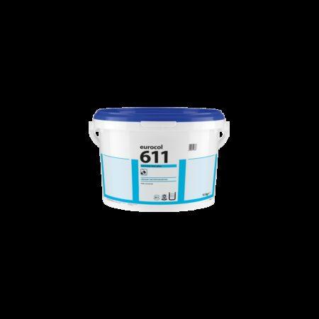 Colle à linoléum EUROSTAR 611 Lino Plus pour Marmoleum en lés