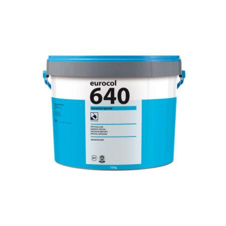 Colle à linoléum EUROSTAR 640 Special pour Marmoleum en dalles ou Decibel.