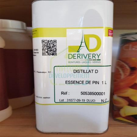 DISTILLAT D'ESSENCE DE PIN
