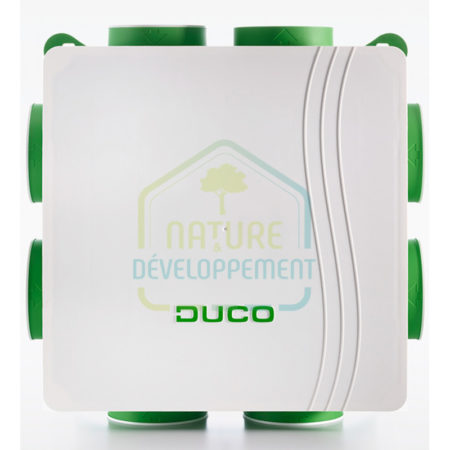 Kit VMC silenceuse et intélligente DucoBox Hygro Plus