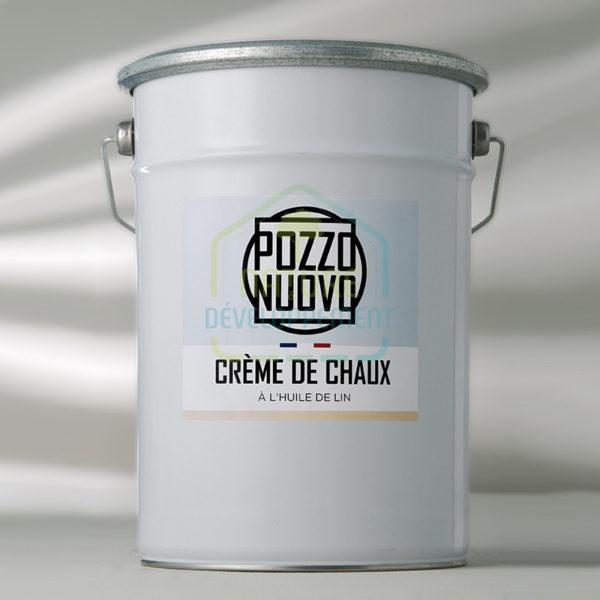 Crème de chaux en pâte à l'huile de lin 7Kg Pozzo Nuovo