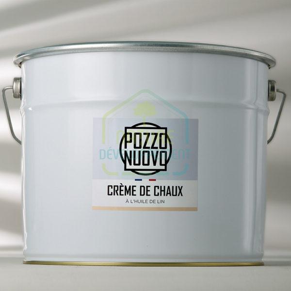 Crème de chaux en pâte à l'huile de lin 17Kg Pozzo Nuovo