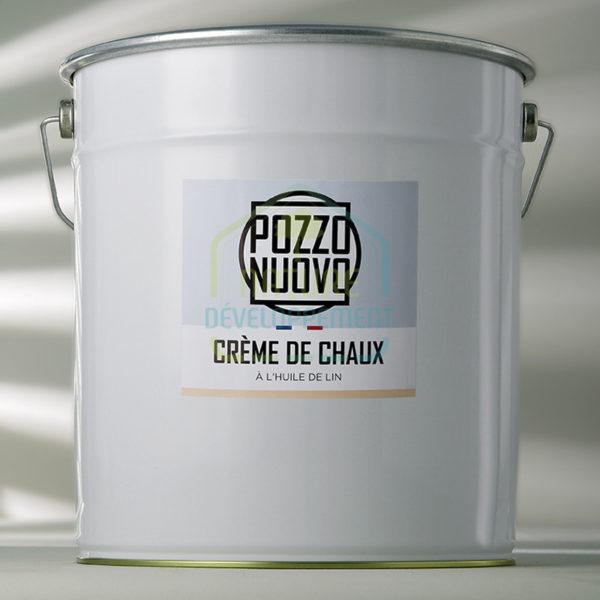 Crème de chaux en pâte à l'huile de lin 27Kg Pozzo Nuovo