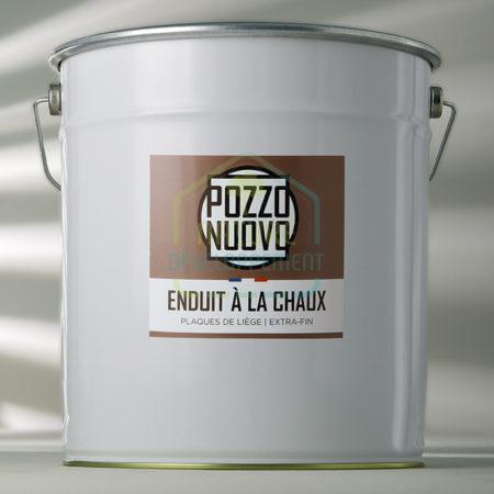 Enduit de finition à la chaux prêt à l'enploi Pozzo Nuovo pour plaque de liège EXTRA-FIN