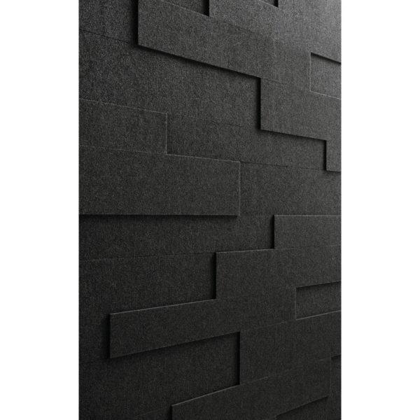 Lambris en feutre style SP 800 Feutre gris ardoise 4504 détail