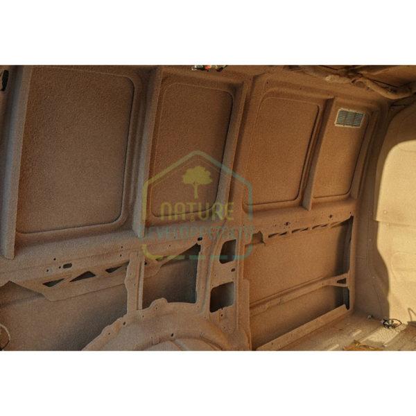 Enduit isolant en liège projeté SOLIEGE intérieur camion