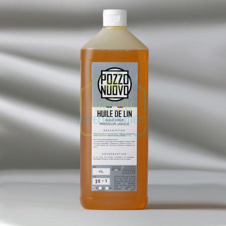Huile de lin Pozzo Nuovo 1 litre