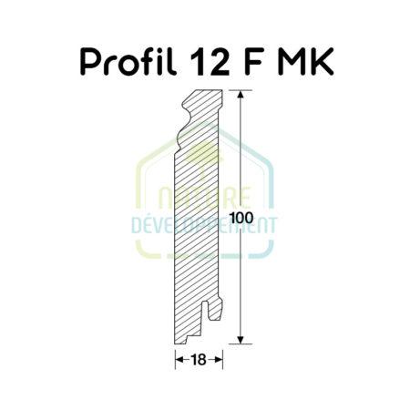 Plinthe - Profilé 12 F MK MEISTER