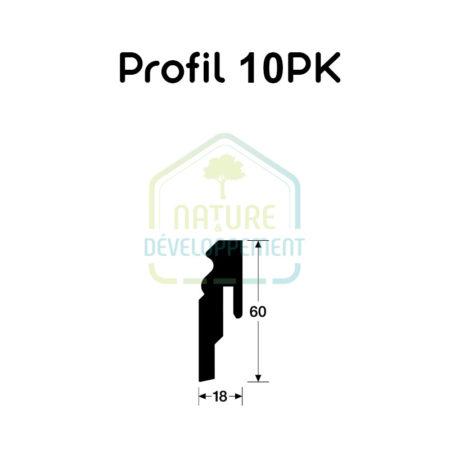 Plinthe - Profile 10 PK MEISTER