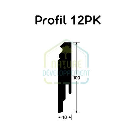 Plinthe - Profilé 12 PK MEISTER