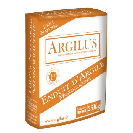 Enduit terre monocouche Argilus