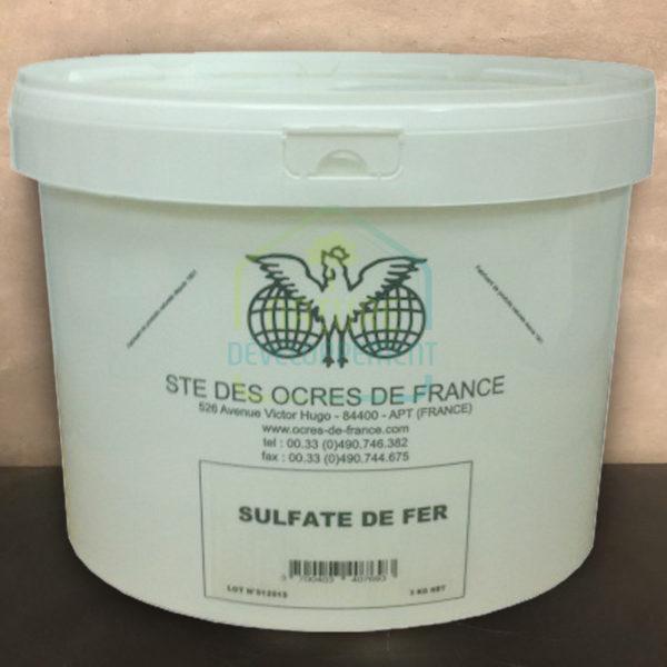 Sulfate de fer 3Kg Ocres de France