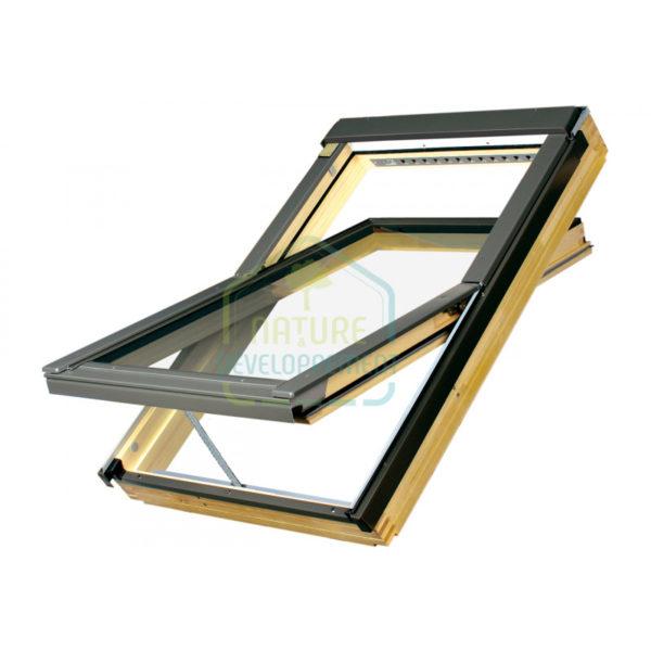 Fenêtre à rotation en bois Fakro