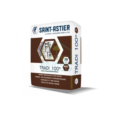 Chaux Pure Hydraulique NHL5 TRADI 100 35KG de Saint-Astier