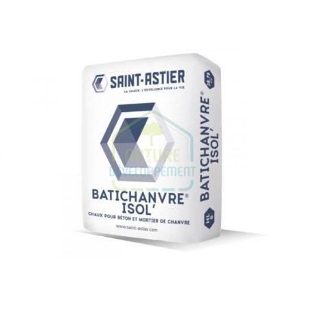 Liant à la chaux BATICHANVRE- ISOL 18,75KG de Saint-Astier
