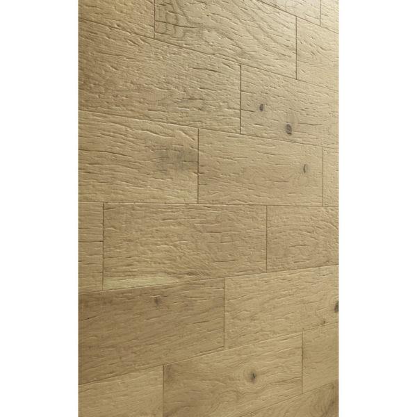 Lambris en bois véritable craft EP 500 huilé nature Raw Oak R34 détail