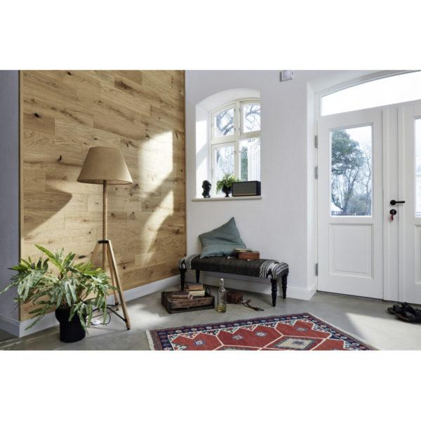 Lambris en bois véritable craft EP 500 huilé nature Natural Oak 4301 ambiance