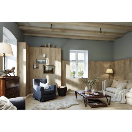 Lambris en bois véritable craft EP 500 huilé nature Cream Oak 4302 ambiance