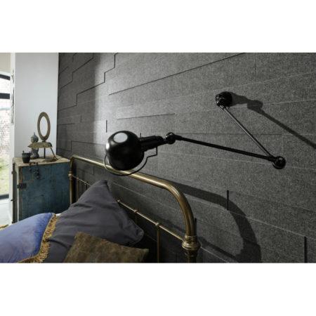 Lambris en feutre style SP 800 Feutre gris quartz 4503 ambiance