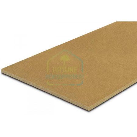Isolant pour plancher et panneau support d'enduit Steico base