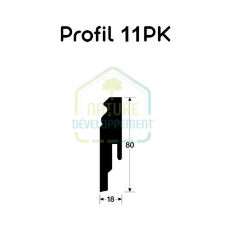 Plinthe - Profile 11 PK MEISTER
