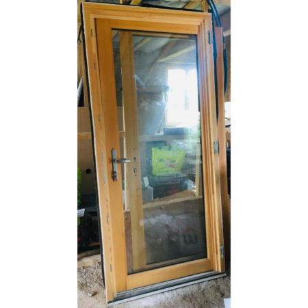 Porte fenêtre bois 68mm faible emission Ug:1.1