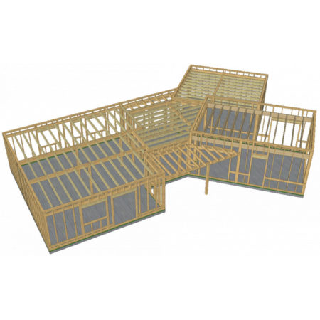 Kit ossature bois prêt à assembler